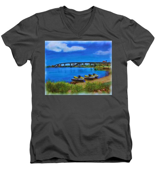 Do You Sea Doo Men's V-Neck T-Shirt