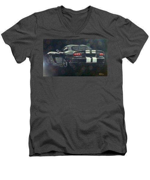 Dodge Viper 2 Men's V-Neck T-Shirt