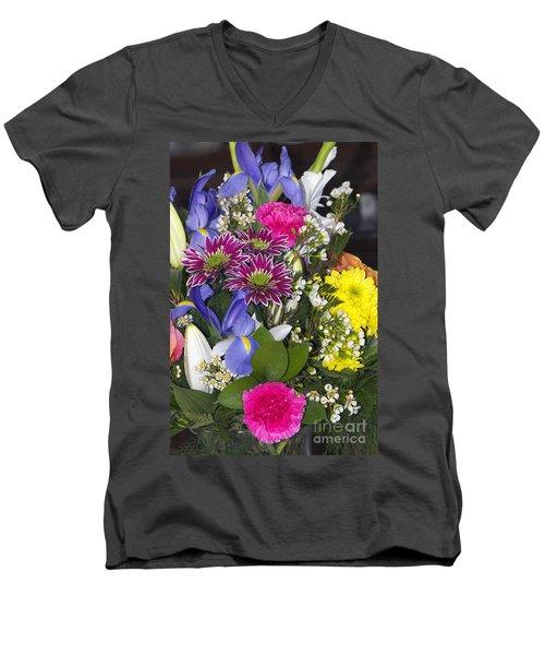 Floral Bouquet 2 Men's V-Neck T-Shirt