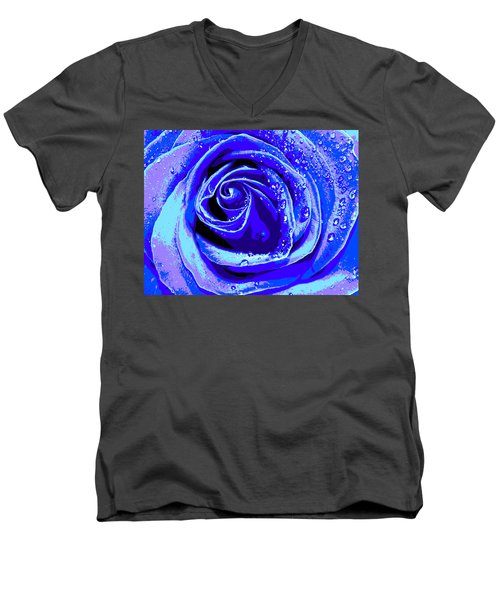 Forever In Blue Men's V-Neck T-Shirt