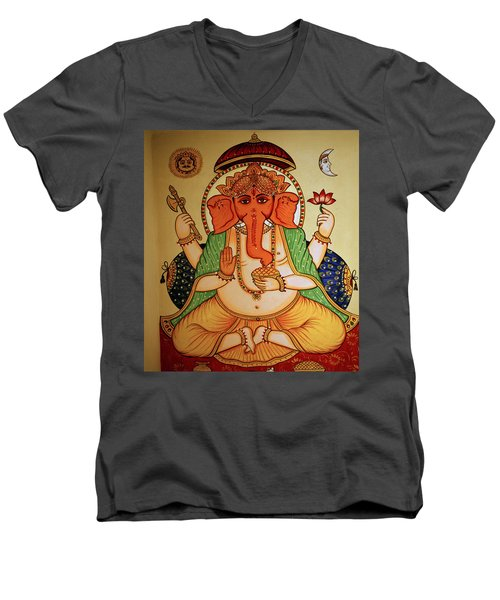 Spiritual India Men's V-Neck T-Shirt