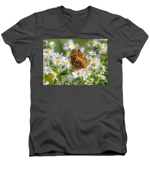Men's V-Neck T-Shirt featuring the photograph Gods Creation-18 by Robert Pearson