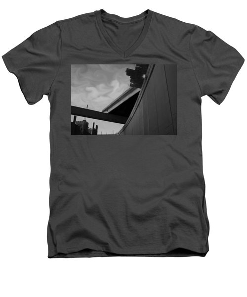 Men's V-Neck T-Shirt featuring the photograph Going Under by Jamie Lynn