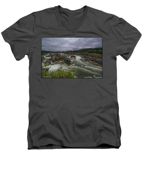 Great Falls Men's V-Neck T-Shirt