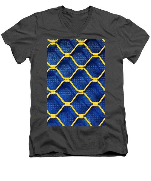 Grilled Rolling Shutters In Shop Men's V-Neck T-Shirt