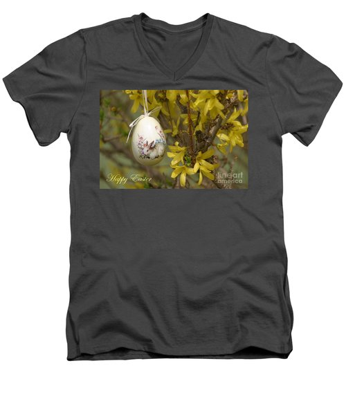 Happy Easter Men's V-Neck T-Shirt