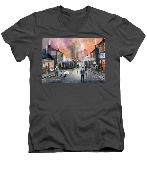 Images Of The Black Country Men's V-Neck T-Shirt