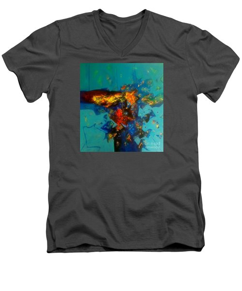 Sold Out Men's V-Neck T-Shirt by Sanjay Punekar