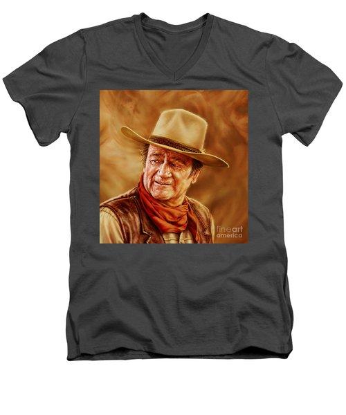 John Wayne Men's V-Neck T-Shirt