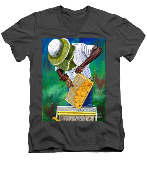 Keeper Of The Bees Men's V-Neck T-Shirt