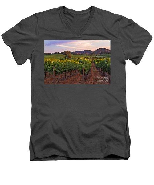 Knight's Valley Summer Solstice Men's V-Neck T-Shirt
