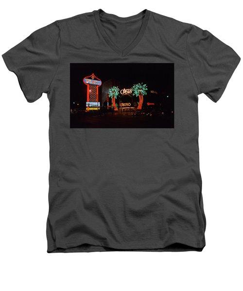 Las Vegas 1983 #2 Men's V-Neck T-Shirt