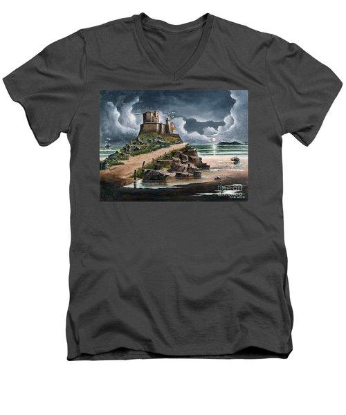 Lindisfarne Men's V-Neck T-Shirt