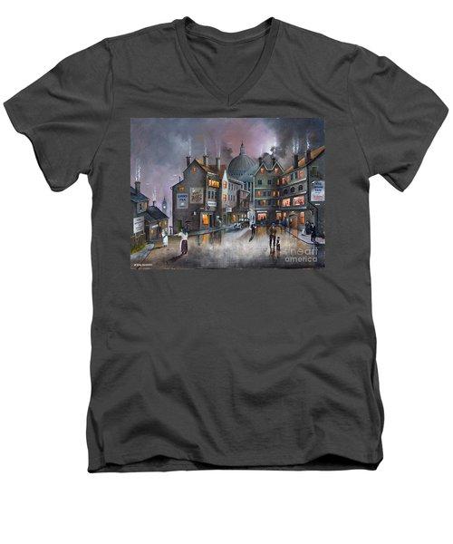 Ludgate Hill Men's V-Neck T-Shirt