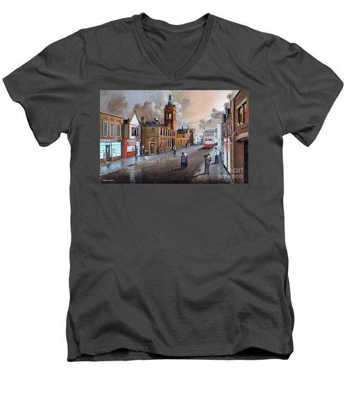 Market Street - Stourbridge Men's V-Neck T-Shirt