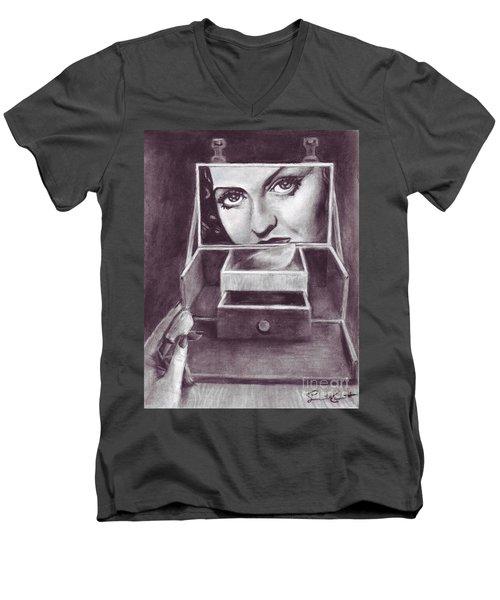 1 Minute Miss Davis Men's V-Neck T-Shirt