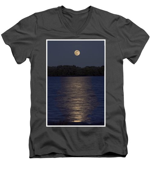 Moonrise Men's V-Neck T-Shirt