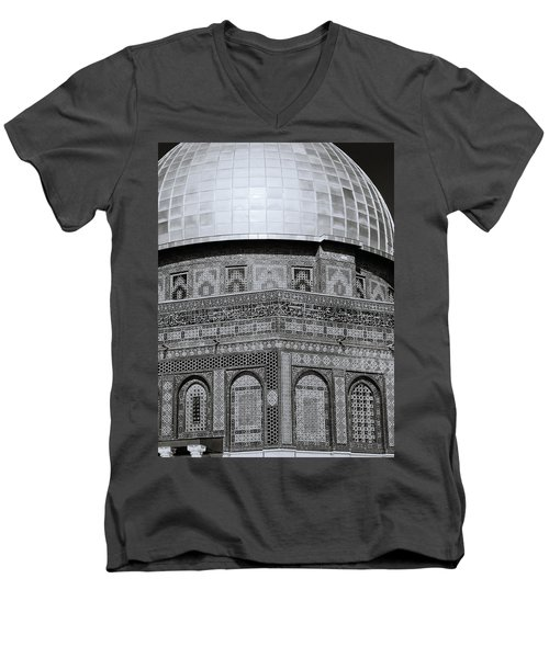 Jerusalem Mosaic Men's V-Neck T-Shirt