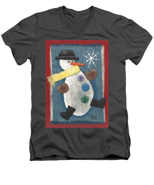 Mr. Snowjangles Men's V-Neck T-Shirt