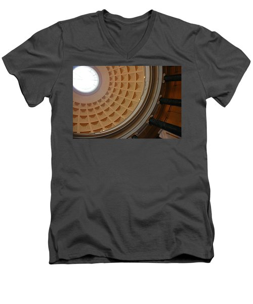 National Gallery Of Art Dome Men's V-Neck T-Shirt