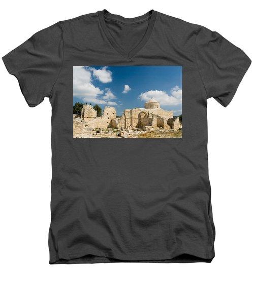 Old Church Anogyra  Men's V-Neck T-Shirt