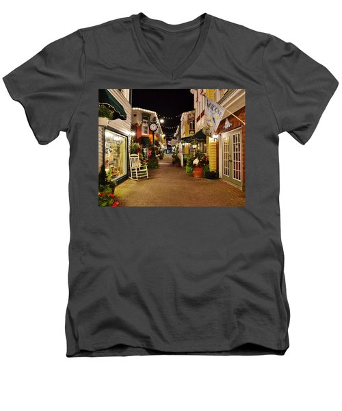 Penny Lane - Rehoboth Beach Delaware Men's V-Neck T-Shirt