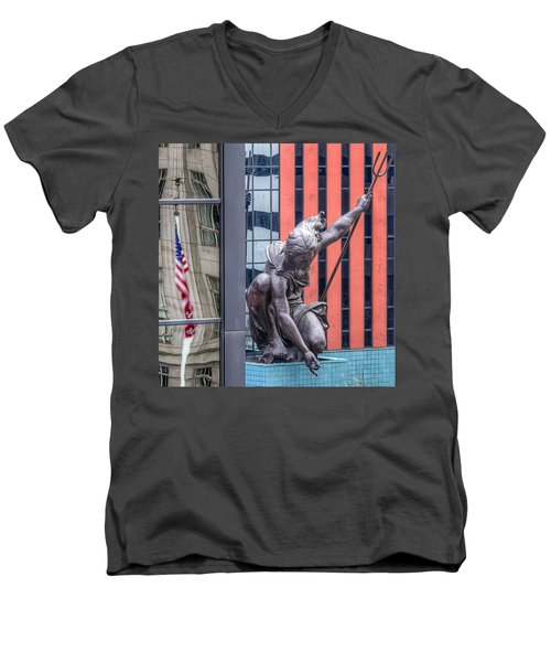 Portlandia Men's V-Neck T-Shirt