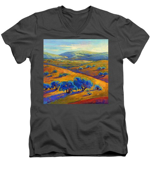 Rolling Hills 1 Men's V-Neck T-Shirt