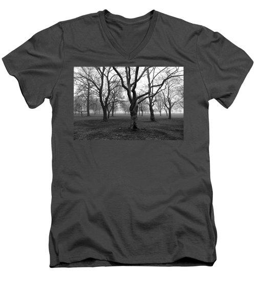 Seaside By The Tree Men's V-Neck T-Shirt