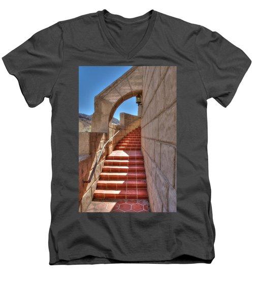 Spanish Steps Men's V-Neck T-Shirt