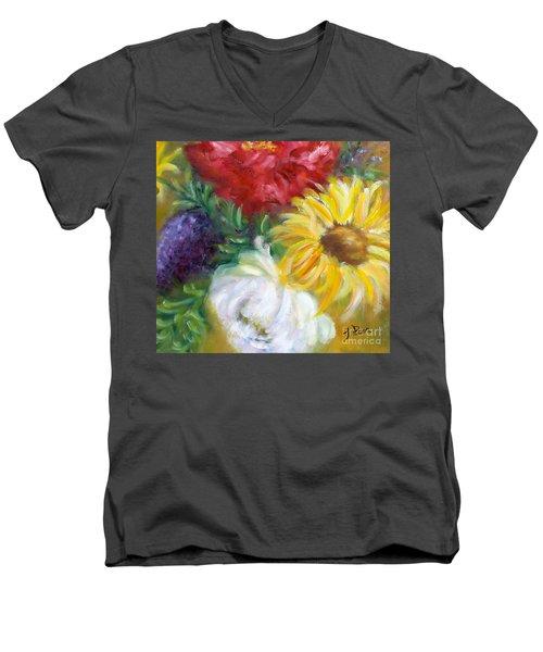 Spring Surprise Men's V-Neck T-Shirt