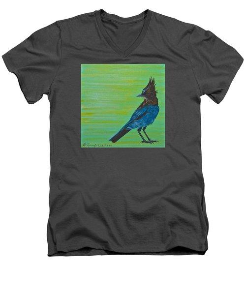 Stellar Jay Men's V-Neck T-Shirt