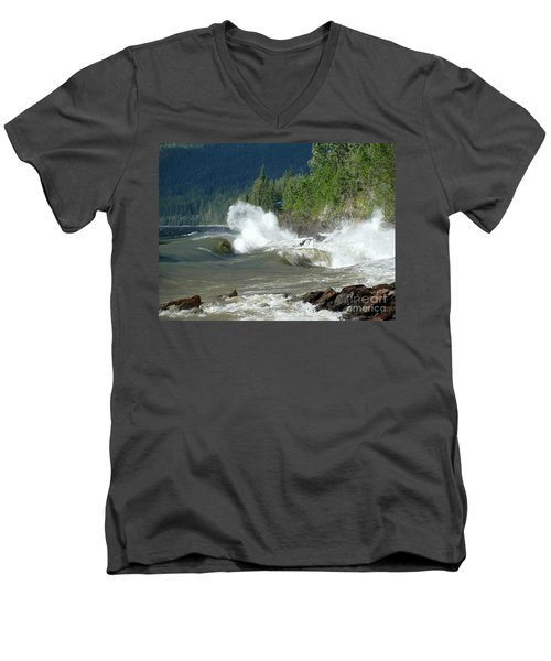 Stormy Lake Men's V-Neck T-Shirt