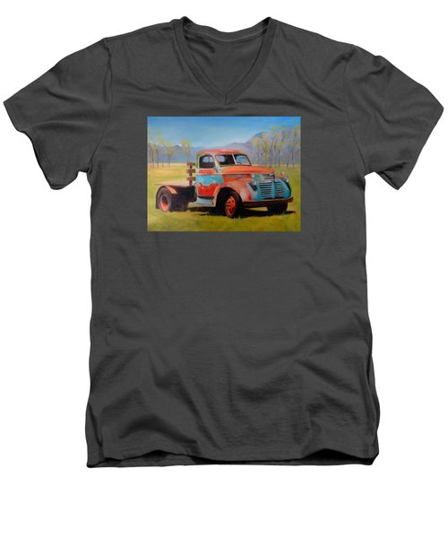 Taos Truck Men's V-Neck T-Shirt