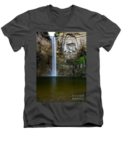 Taughannock Falls Men's V-Neck T-Shirt