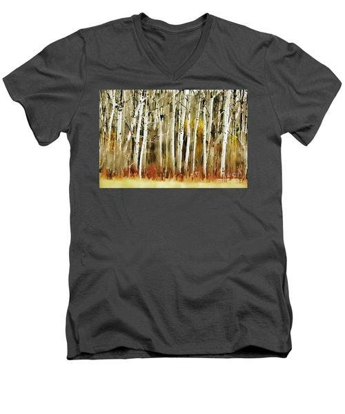 The Birches Men's V-Neck T-Shirt