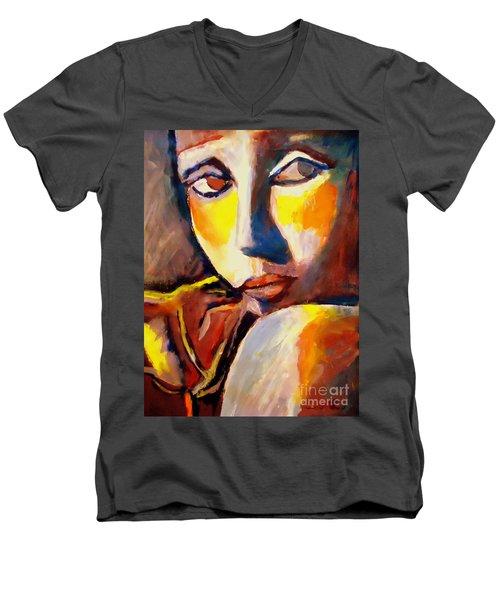 The Flower Men's V-Neck T-Shirt