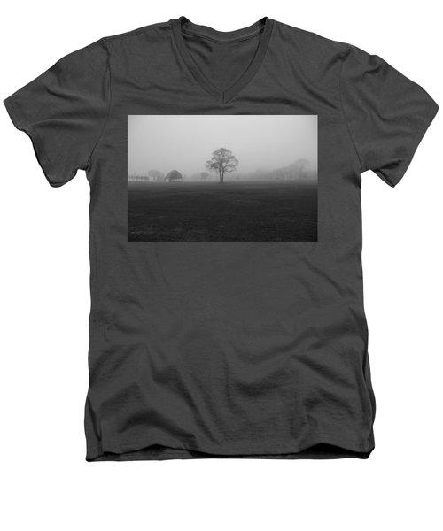 The Fog Tree Men's V-Neck T-Shirt
