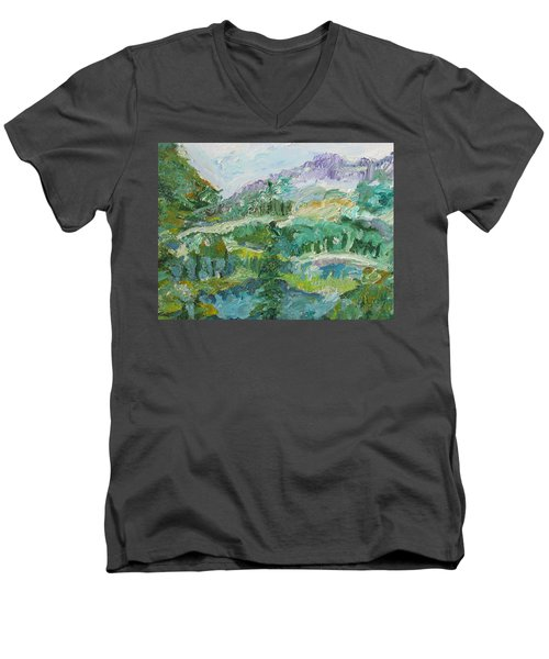 The Great Land Men's V-Neck T-Shirt