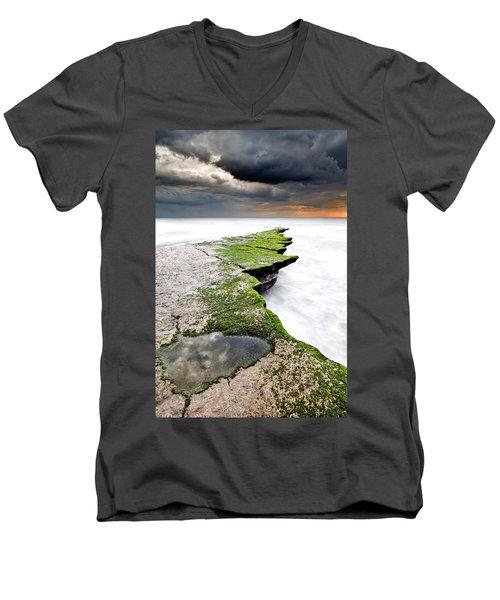 The Green Path Men's V-Neck T-Shirt