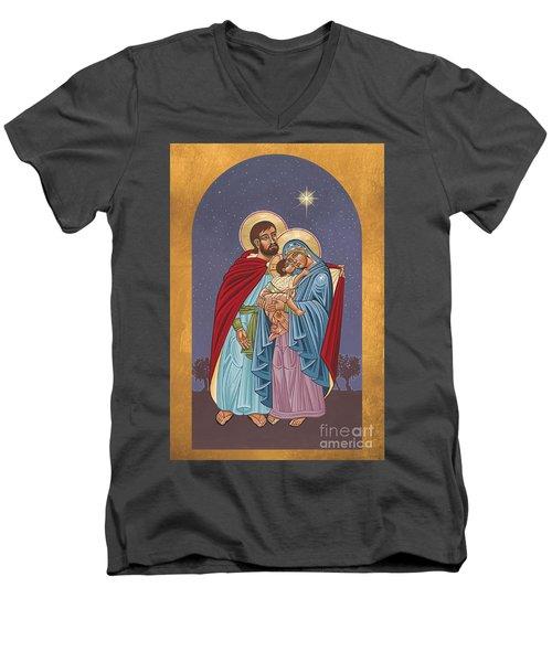 The Holy Family For The Holy Family Hospital Of Bethlehem 272 Men's V-Neck T-Shirt