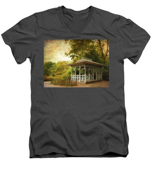 The Ladies Pavilion Men's V-Neck T-Shirt