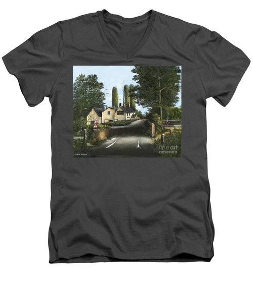The Navigation Men's V-Neck T-Shirt