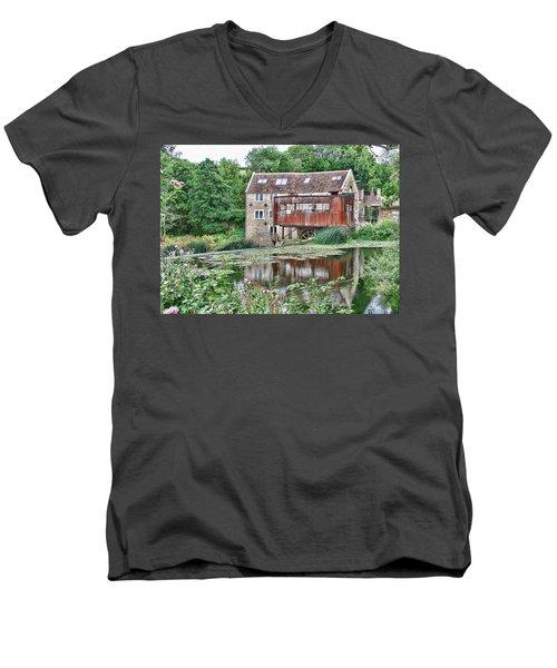 The Old Mill Avoncliff Men's V-Neck T-Shirt