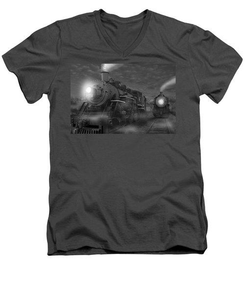 The Yard II Men's V-Neck T-Shirt