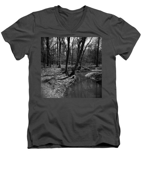 Thorn Creek Men's V-Neck T-Shirt by Verana Stark