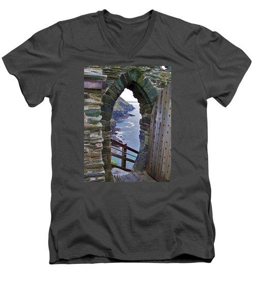 Tintagel Portal Men's V-Neck T-Shirt