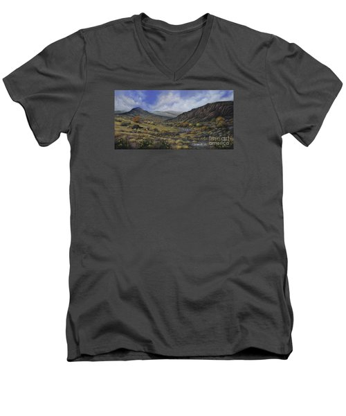 Tres Piedras Men's V-Neck T-Shirt
