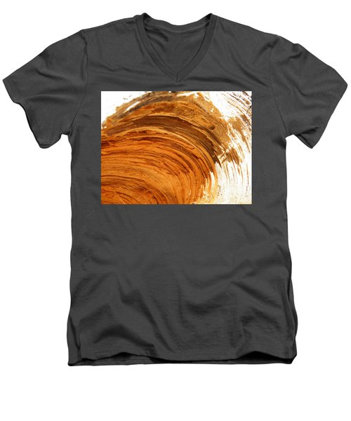 Men's V-Neck T-Shirt featuring the photograph Unbroken by Brian Boyle