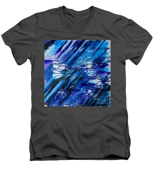 Blue Wind Men's V-Neck T-Shirt